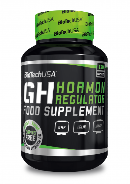 BioTech USA - GH HORMONE REGULATOR 120 Kapseln Testo Booster