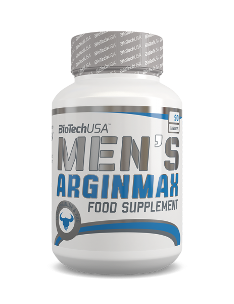 BioTechUSA - MEN'S ARGINMAX 90 Tabletten