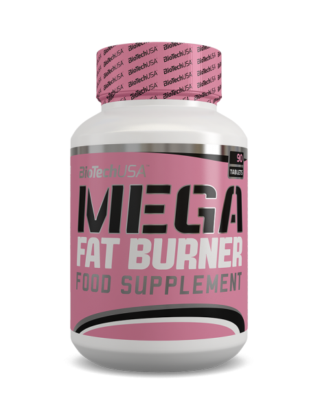 BioTechUSA - MEGA FAT BURNER 90 Tabletten
