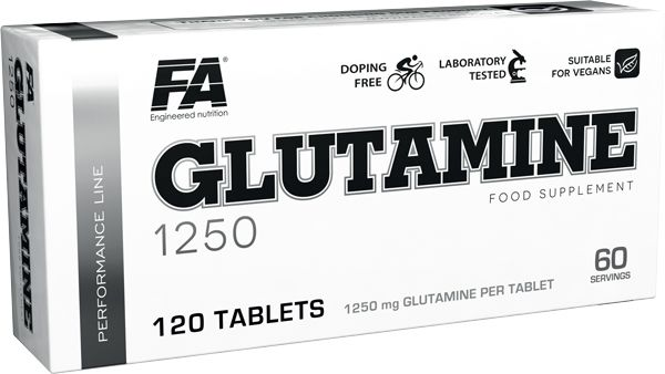 FA - Performance Line GLUTAMINE 1250 blisters 4x30 tabs