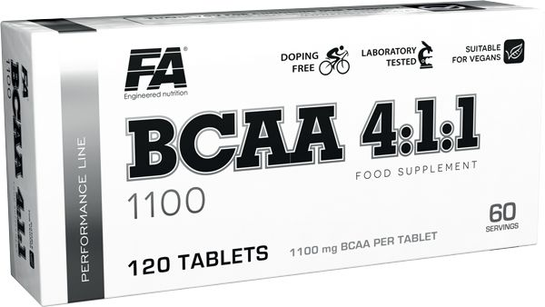 FA - Performance Line BCAA 4:1:1 1100 blisters 4x30 tab