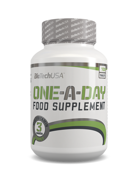 BioTechUSA - ONE-A-DAY 100 Tabletten